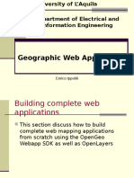 Geographic Web Application
