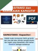 13. Kapasitansi & Rangk. Kapasitif