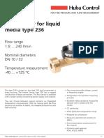 236 Flow Sensor
