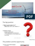 Writing Good C++14 - Bjarne Stroustrup - CppCon 2015