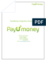 PayUMoney Technical Integration Document