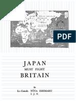 Japan Must Fight Britain - Tota Ishimaru (1936)