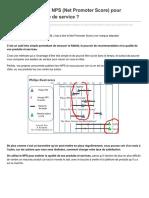Conseilsmarketing.com-Comment Utiliser Le NPS Net Promoter Score Pour Améliorer Sa Qualité de Service