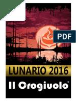Lunario 2016 Il Crogiuolo