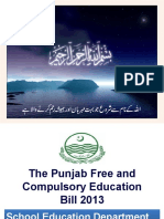 Free and Compulsory Education Act PUNJAB