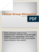 Focus Group Discussion Presentation