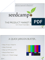 product market fit cycle master class public