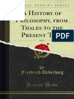 A History of Philosophy From Thales to the Present Time v2 1000064902