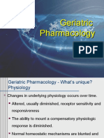 Pharmacology in Geriatric