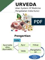 Presentasi Ayurveda