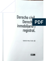 De Reina, Derecho Inmobiliario Registral (Madrid, 2014)