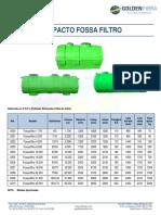 Compacto Fossa Filtro