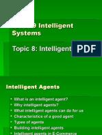 Topic 8 Intelligent Agents