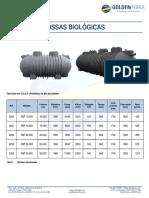 Fossa Biologica Modular PEAD