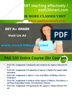 PAD 530 MART teaching effectively / pad530mart.com
