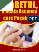 BONUS - Diabetul, o Boala Ascunsa Care Pacaleste
