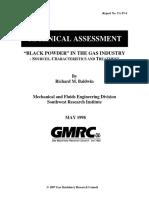Black Powder Tech Assessment
