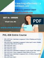 PHL 458 AID teaching effectively / phl458aid.com