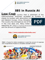 Study MBBS in Russia at Low Cost