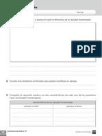 3 primaria conocimiento del medio Evaluación tema 10