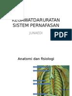 Kegawatdaruratan Sistem Pernafasan