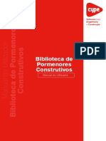 5.Biblioteca Pormenores Construtivos Manual Do Utilizador