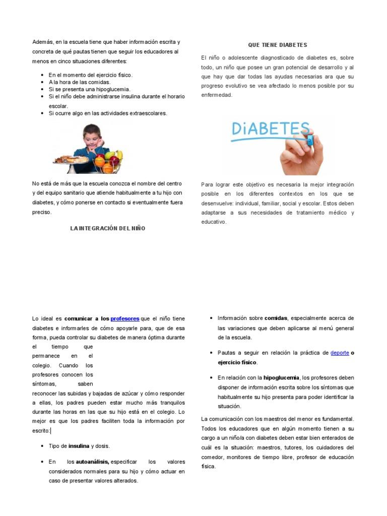 plantilla de diabetes mellitus en niños ppt