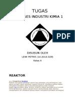 Data Asli Pik Reaktor