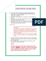 Prosedur Entry Pcare Bpjs