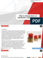Hike in Stamp Duty on Syndicate Loan Financing