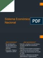 Sistema econmico nacional