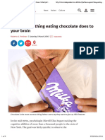 The magical thing eating chocolate does to your brain | Lifestyle | The Independent