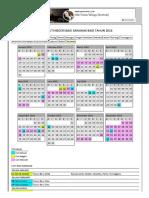 Kalendar Cuti Umum & Cuti Negeri Bagi Sarawak Tahun 2016