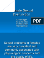 Female Sexual Dysfunction - Sexual Pain Disorders