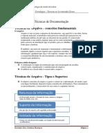 Tecnicas de Documentação