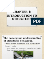 CHAPTER 1- Introduction to Structure