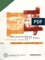 LIBRO Microfinanzas en El Perú Experiencias y Perspectivas