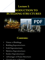 Lecture 1 Building Structures(2)