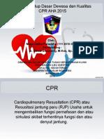 CPR AHA 2015 Dewasa