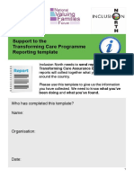 Transforming Care - Information Template March 2016