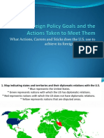 U.S. Foreign Policy Goals - Andrei Enachi