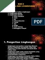 2, 3 & 4. Faktor Lingkungan