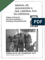 Temario CORREOS --Parte2 Productos y Servicios y Procesos Postales