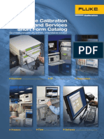 Fluke Calibration Products and Services Short Form Catalog