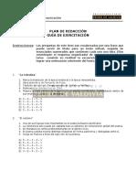 LE17 Plan de Redacción III - Ejercitación