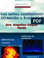 Creación y Evolución Clase 1