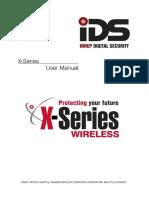IDS X-Series User Manual 700-398-01E