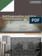 Multifungsionalitas Arsitektur - Norberg Schulz