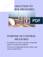 Introduction to Control Measures