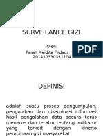 Surveilance Gizi